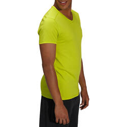 Heren T-shirt voor gym en pilates, slim fit - 164326