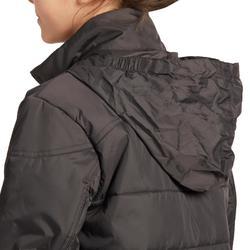 Blouson chaud équitation enfant 500 WARM gris
