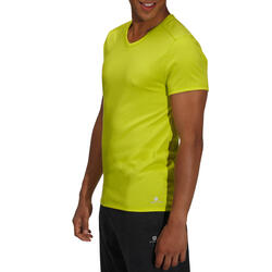 Heren T-shirt voor gym en pilates, slim fit - 164327