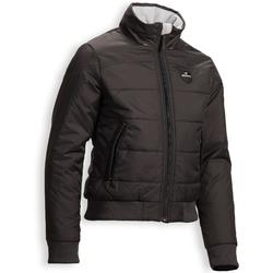 Winter-Reitblouson 500 Warm Kinder grau