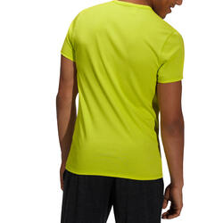 Heren T-shirt voor gym en pilates, slim fit - 164328