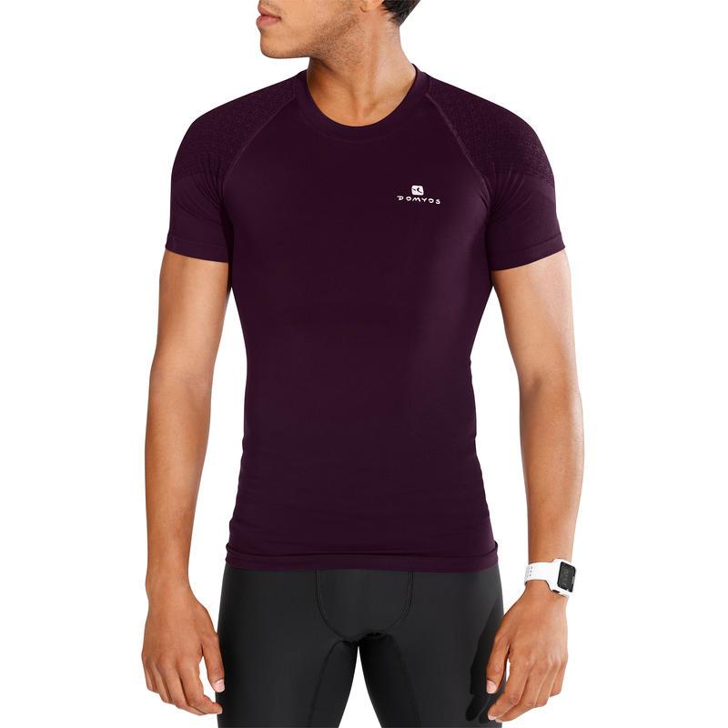 เสื้อยืดเพาะกายรุ่น Muscle Xtreme (สีม่วง)