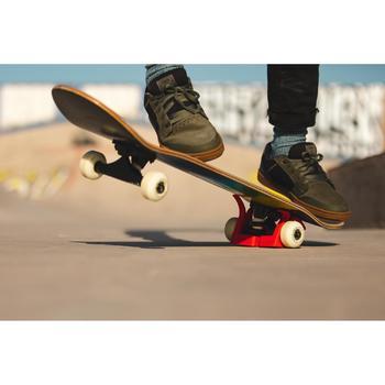 Lage skateschoenen voor kinderen CRUSH 500 kaki