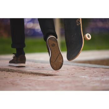 Lage skateschoenen (cupsole) voor volwassenen Crush 500 kaki