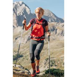 Legging de randonnée rapide Femme FH500 Helium Gris chiné
