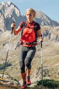 WOMEN FAST HIKING SHOES, APPAREL Hiking - WOMEN'S LEGGINGS FH500 HELIUM QUECHUA - Hiking Clothes