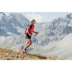 Short voor fast hiking FH500 dames zwart