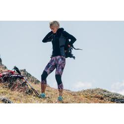 Veste Polaire de randonnée montagne Femme MH950 Noire