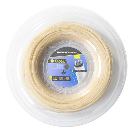 TA 500 Comfort 1.3 mm Multifilament Tennis String 200 m - Beige