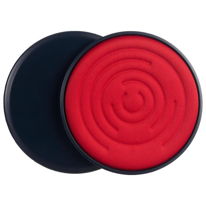 Disques de glisse SL 500 bleus et rouges