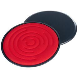 Discos de deslizamiento SL 500 azul y rojo