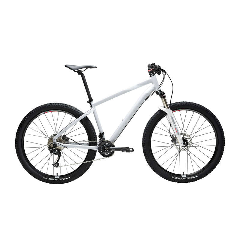 W MTB BIKE Cycling - ST 540 Women's Mountain Bike, Grey - 27.5