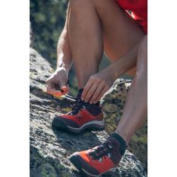 Wanderschuhe Speed Hiking FH500 Damen rot/violett