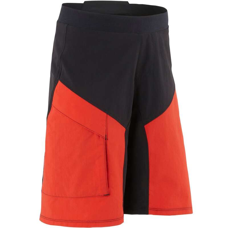 JR MTB ROAD WARM WEATHER APPAREL Cycling - 500 Kids' MTB Shorts ROCKRIDER - Cycling