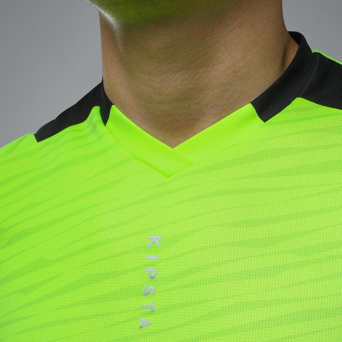 F500 Adult Football Shirt - Shiny Yellow