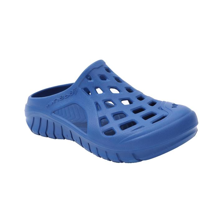 MEN'S POOL CLOGS 100 OVERSEAS BLUE