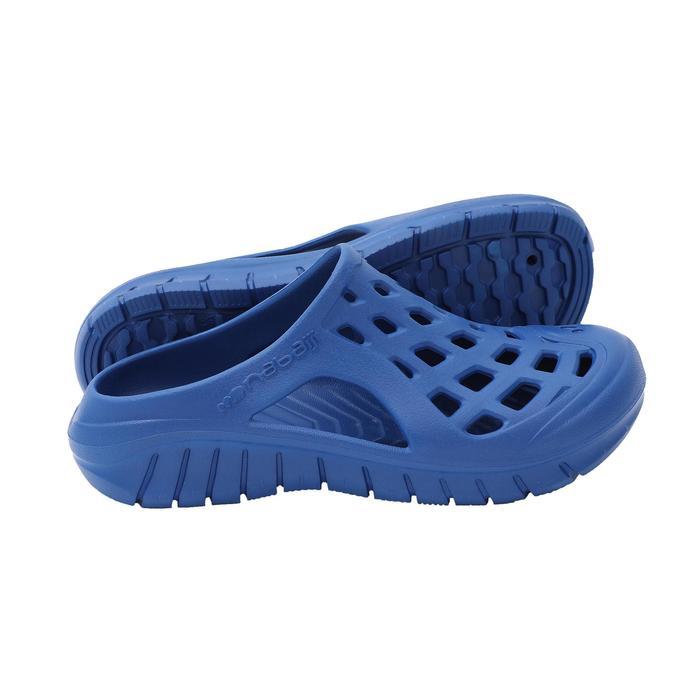男款泳池拖鞋 - 藍色