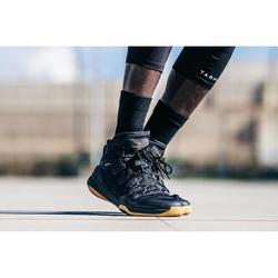Basketbalschoenen voor heren SC500 hoog model zwart/goud