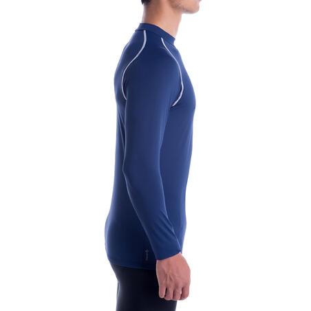 Keepdry 100 Adult Breathable Long Sleeve Base Layer - Dark Blue