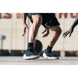 CHAUSSURE DE BASKETBALL HOMME SHIELD 500 noir blanc