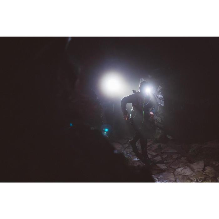 LAMPE FRONTALE TRAIL RUNNING ONNIGHT 250 NOIR JAUNE - 160 LUMENS