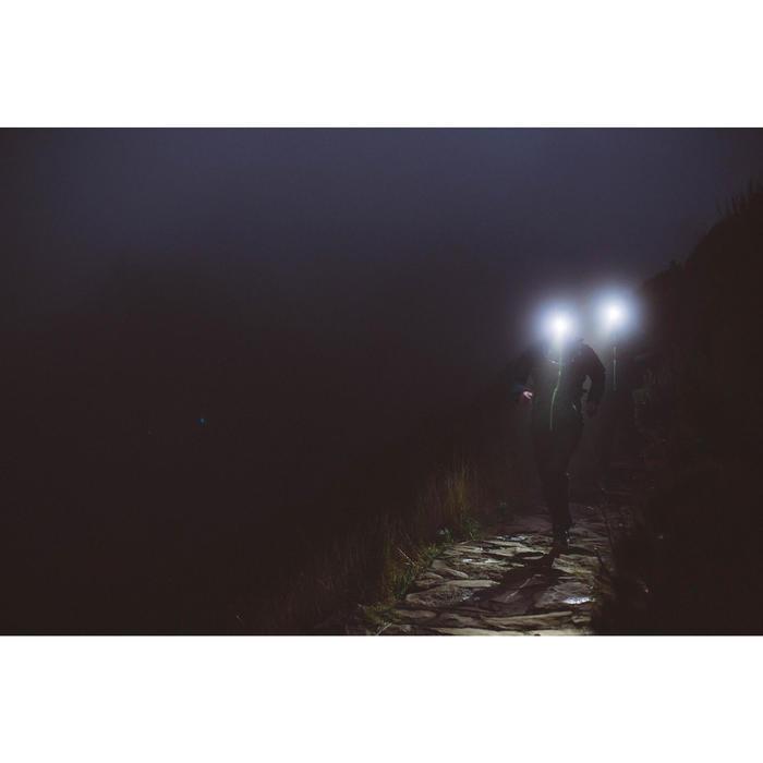 Linterna Frontal Trail Running Kalenji Onnight 710 Negro Naranja / 300 Lúmenes
