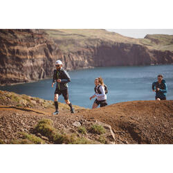 WOMEN'S WINDPROOF TRAIL RUNNING JACKET - DARK GREY