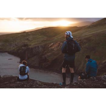 Kuitbroek voor heren voor traillopen zwart brons