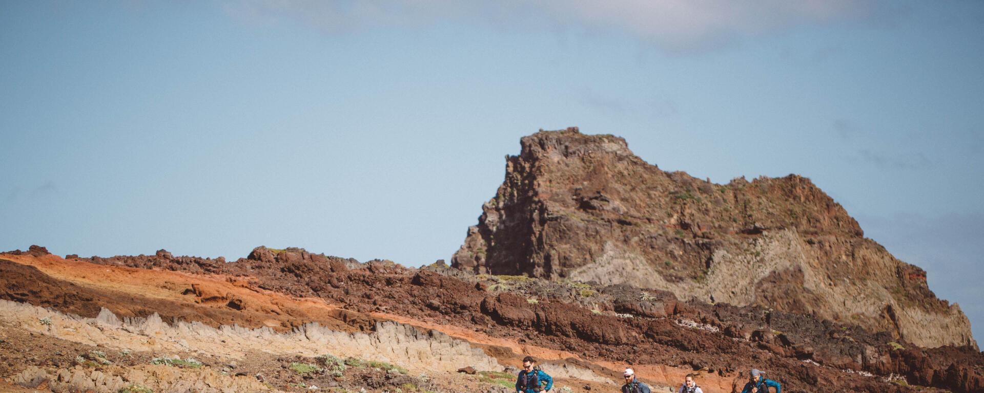 Team EVADICT sur l'île de Madeire