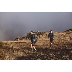 MEN'S TRAIL RUNNING WATERPROOF JACKET - BLACK/BRONZE