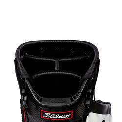 Waterdichte standbag voor golf Stadry zwart en wit