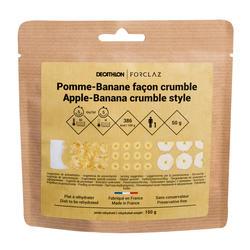 Comida desidratada para Trekking - Sobremesa - Crumble Maçã e Banana 70 g