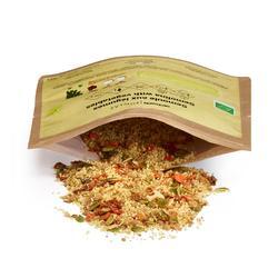 Trekkingnahrung Grieß/Gemüse Bio vegetarisch 125 g gerfriergetrocknet