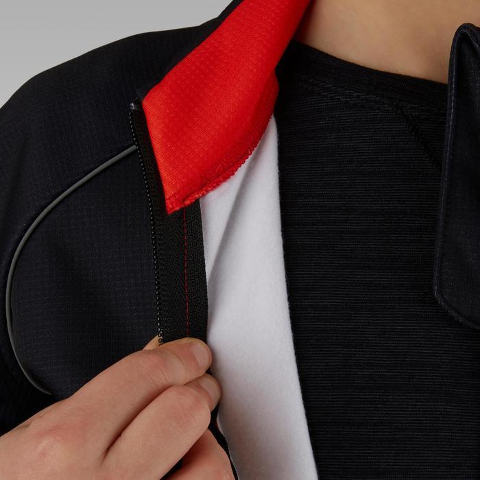 Fietsjack voor kinderen 500 zwart rood