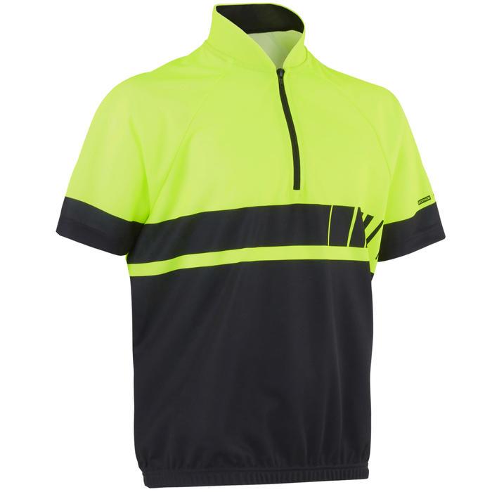 Maillot manches courtes vélo enfant 500 Yellow