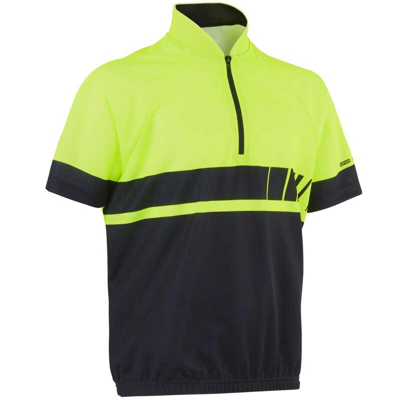 RĘKAWICZKI DLA DZIECI Odzież rowerowa - Koszulka krótki rękaw 500 JR BTWIN - Odzież rowerowa