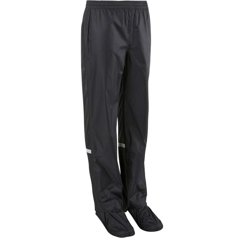 CITY JUNIOR WET WEATHER CYCLING APPAREL Cycling - Kids' Overtrousers 500 BTWIN - Cycling