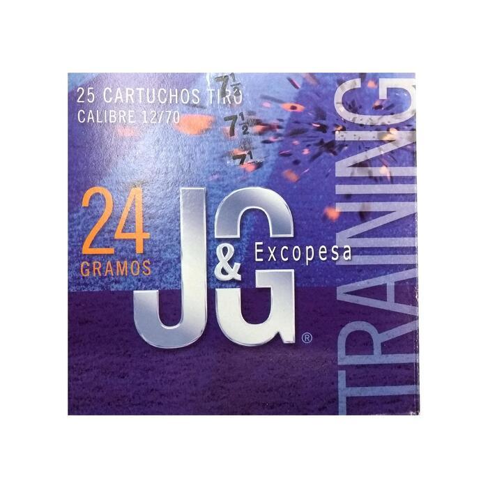 Cartucho Ball Trap Jg Training 24g Perdigon 7.5 X 25