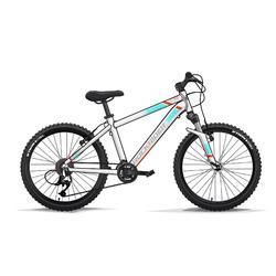 Kindermountainbike Rockrider St 500 24 inch 9-12 jaar wit