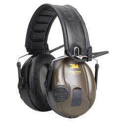 Elektronische geluidswerende oorbeschermer SportTac oranje/groen