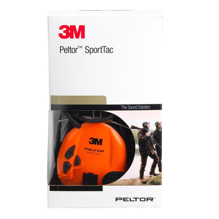 Actieve gehoorbescherming Peltor Sporttac oranje groen