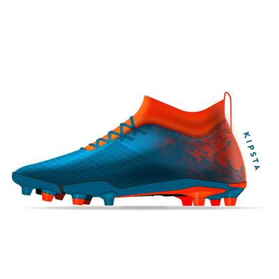 Kids' Football Boots Agility 900 Mesh FG - Blue/Red