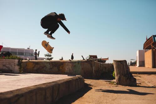 Skateboard régulier deck 100 decathlon
