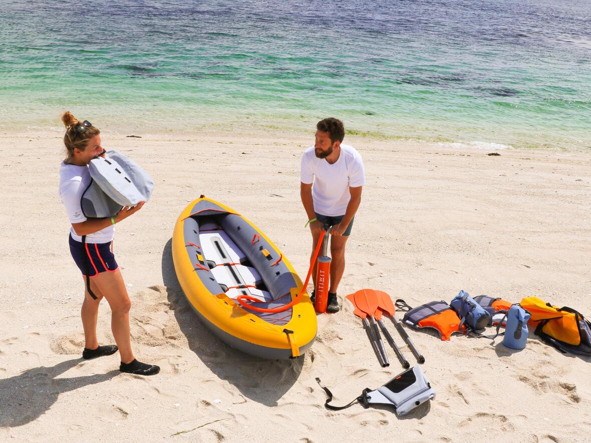 light inflatable kayak