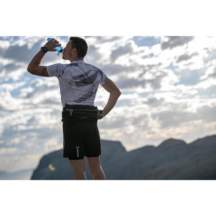 Trinkflasche weich Trail 500ml blau