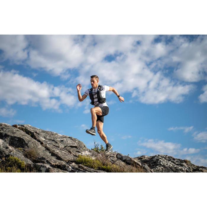 Mochila Ultra Trail Running Kalenji Mixto 15L Negro Bronce