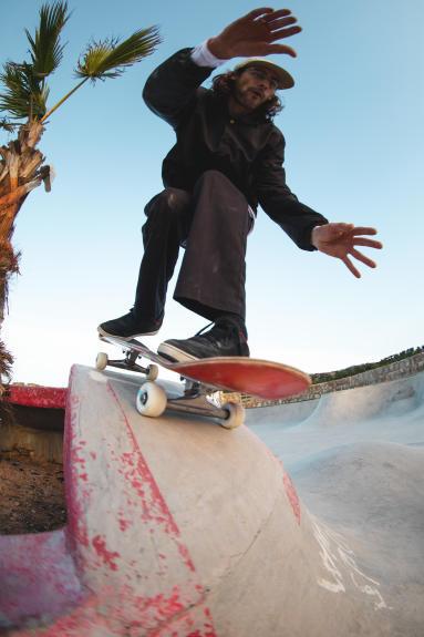skate wheels drop in