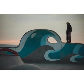 """Planche de skate DECK 120 taille 8.25"""" couleur bleu.."""