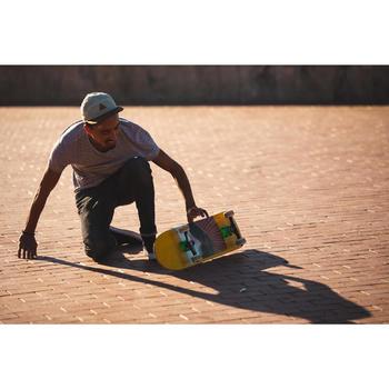 """Planche de skate DECK 120 taille 7.75"""" couleur verte."""