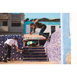 "Skateboard deck 120 maat 8.25"" blauw"